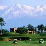 Golfspiel auf schönen Golfplätzen in Marrakech