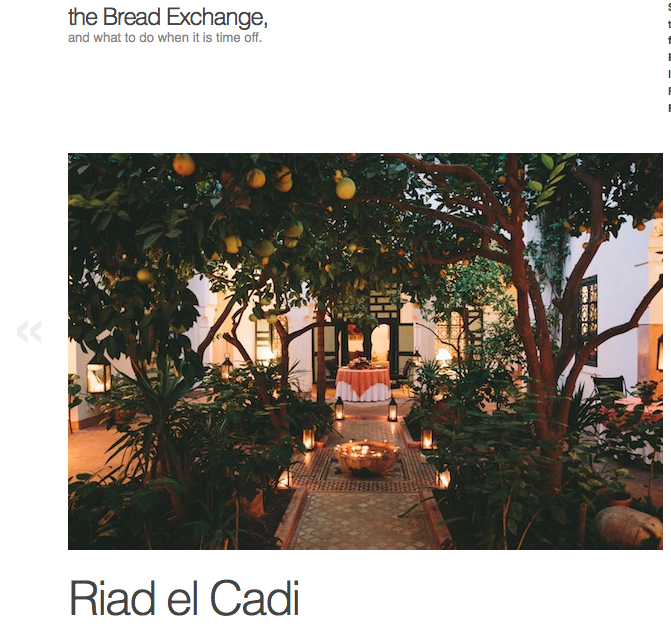 The Bread Exchange at Riyad El Cadi
