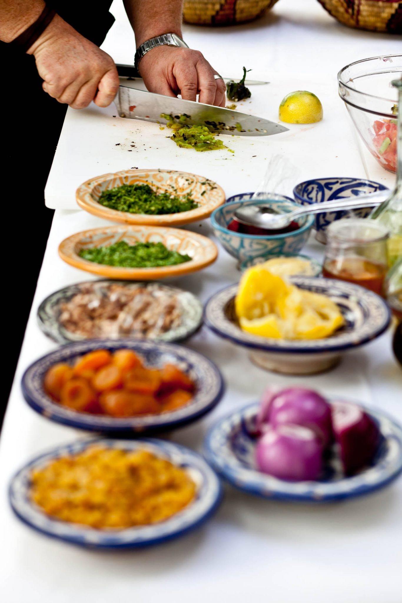 Cooking Class - Riad - Marrakech - Riyad El Cadi