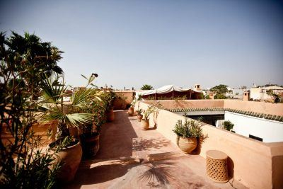 Roof Terraces - Riad - Marrakech - Riyad El Cadi