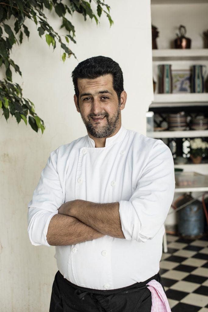 Portrait Hassan Akchouli Chef-(c)Jelka von Langen